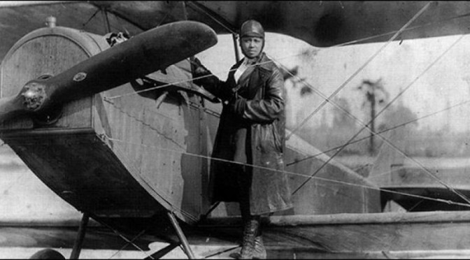 Bessie Coleman – First Female African-American Pilot
